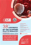 38th Conference of the Egyptian Society of Hematology